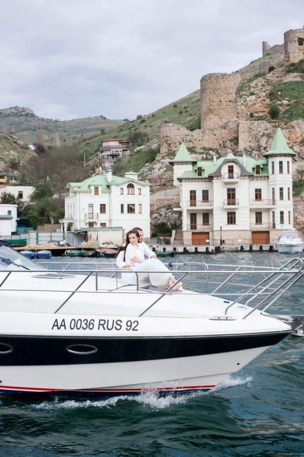 Love Story на яхте